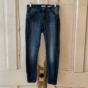 Kensie Jeans effortless ankle mid rise jeans 2